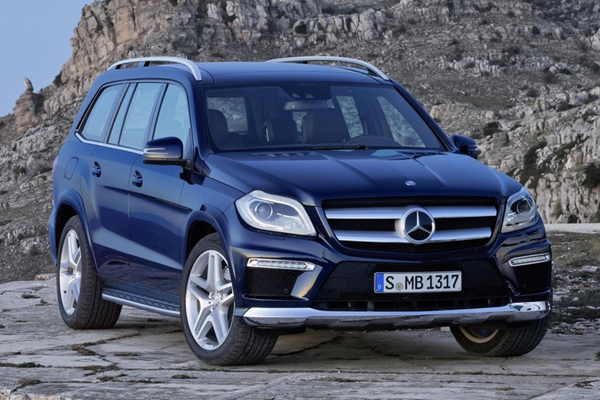 Mercedes Benz GL класс фото