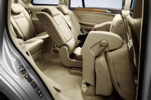 Mercedes GL Class 7 мест салон фото