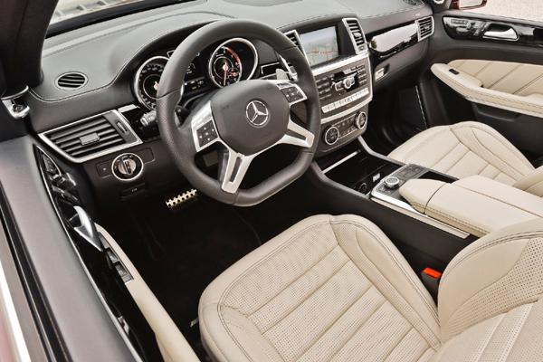 Mercedes GL Class AMG салон фото