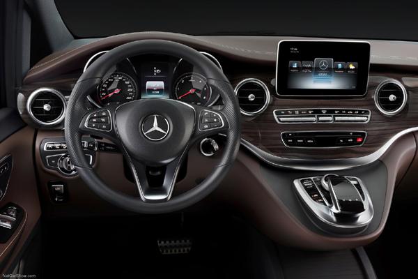 Mercedes V Class салон фото