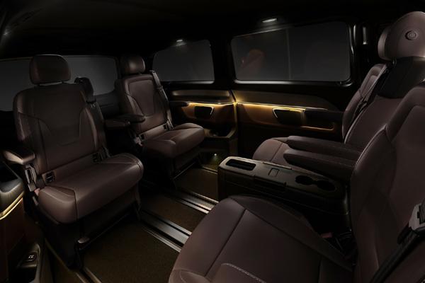 Mercedes V Class 8 местсалон фото