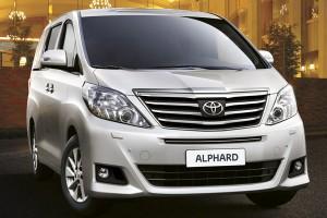 Toyota Alphard фото