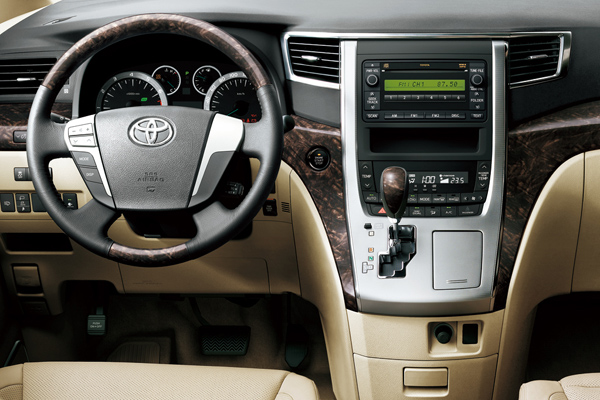 Toyota Alphard салон фото