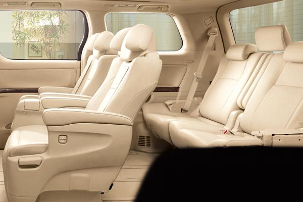 Toyota Alphard 7 мест салон фото