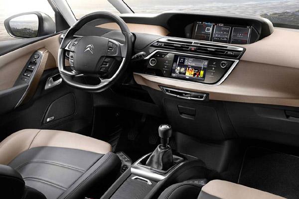 Citroen Grand C4 Picasso салон фото