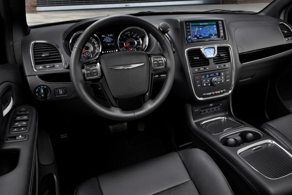 Chrysler Grand Voyager салон фото