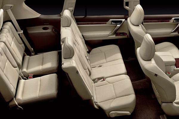 Lexus GX 7 мест салон фото