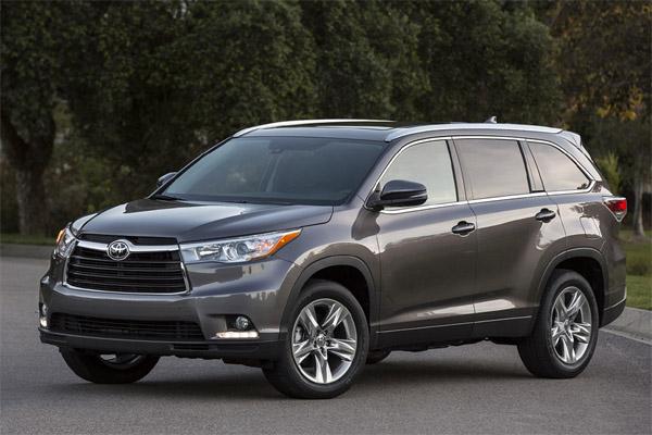 Toyota Highlander фото