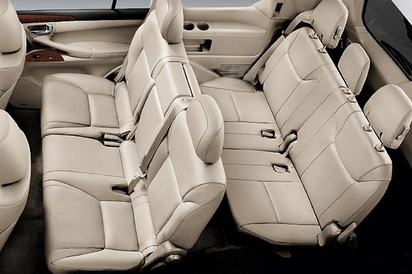 Lexus LX фото салона