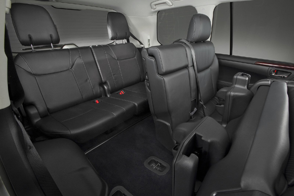 Lexus LX 8 мест салон фото