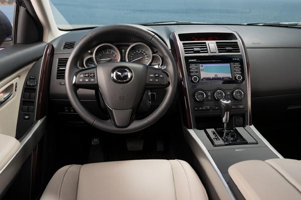 Mazda CX 9 салон фото
