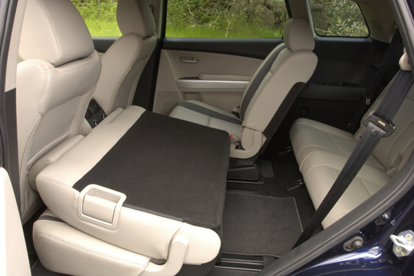 Mazda CX 9 7 мест салон фото