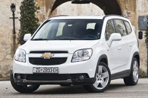 Chevrolet Orlando фото