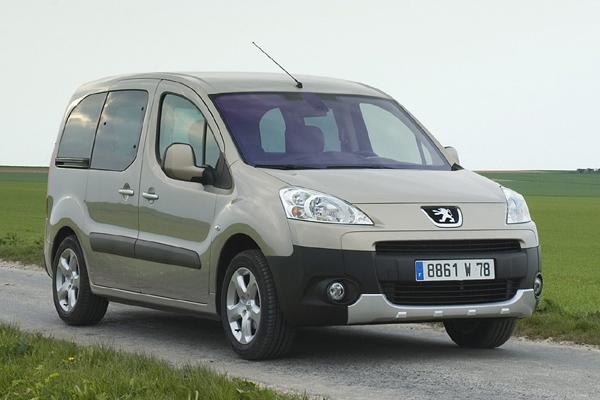 Peugeot Partner Tepee минивэн фото