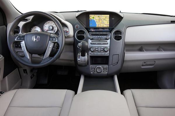 Honda Pilot салон фото