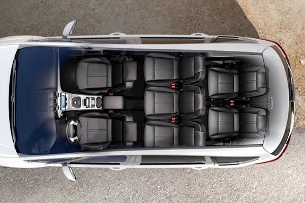 Ford S MAX 7 мест салон фото