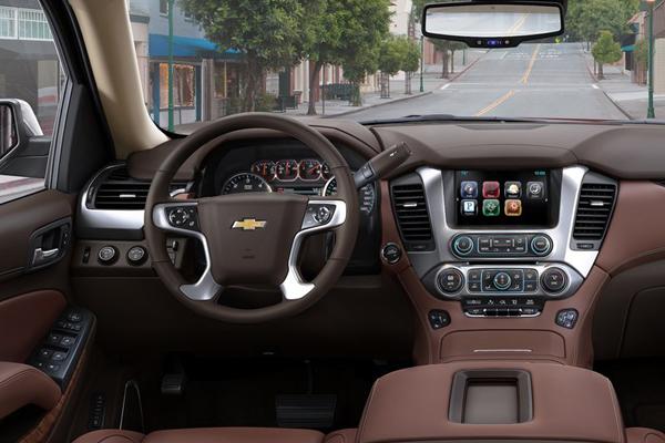 Chevrolet Tahoe салон фото