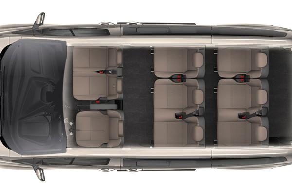 Ford Tourneo микроавтобус 8 мест салон фото