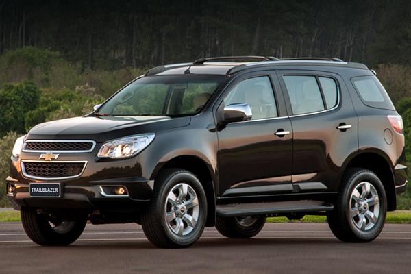 Chevrolet Trailblazer фото