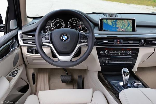 BMW X5 салон фото