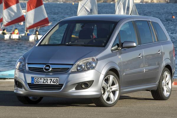 Opel Zafira 2005 фото
