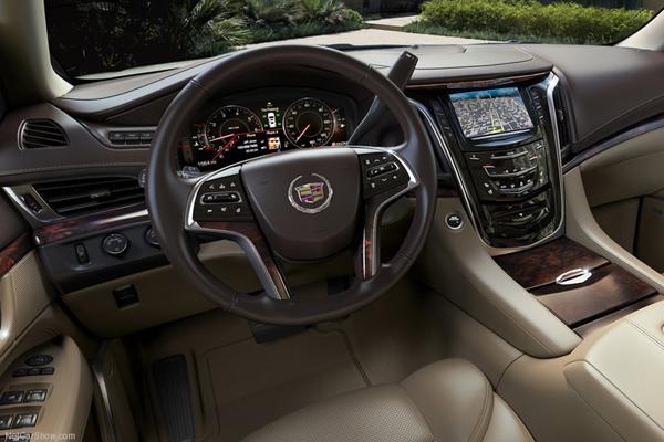 Cadillac Escalade салон фото