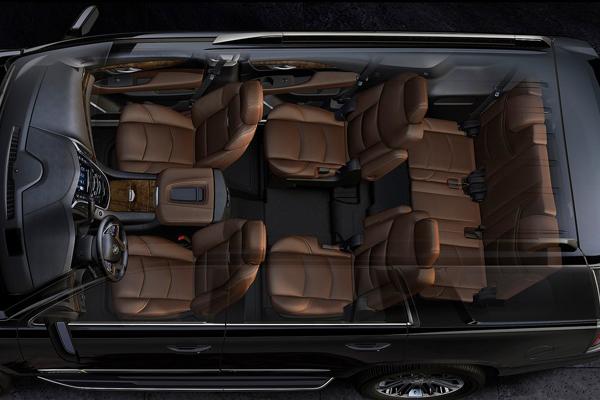 Cadillac Escalade 7 мест салон фото