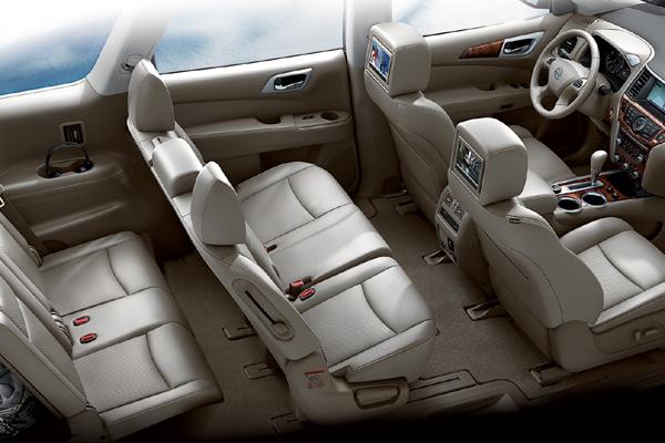 Cadillac SRX 7 мест салон фото